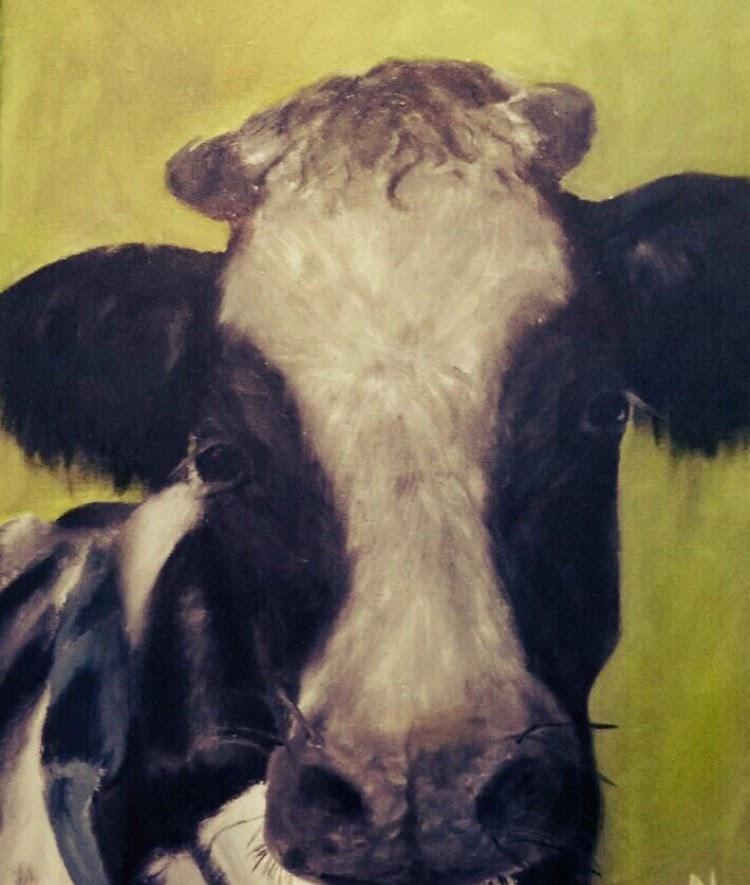 Fleur the Cow